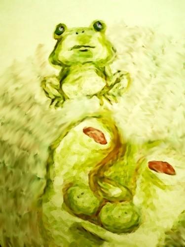 王様と蛙。
