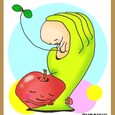 愛の手リンゴ。