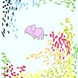 夢見るピンク象